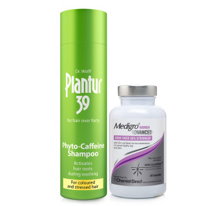 Plantur 39 Shampoo For Coloured Hair & Medigro Advanced for Women