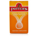 Potters Lemon Glycerine & Honey Pastilles