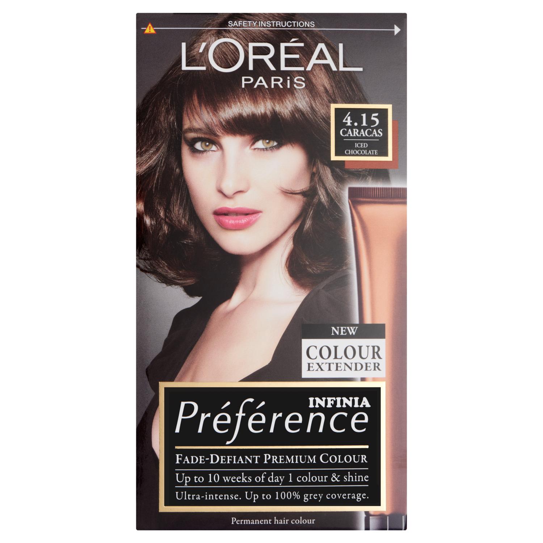 L'Oreal Paris Preference Infinia 4.15 Caracas Iced Chocolate Hair Dye