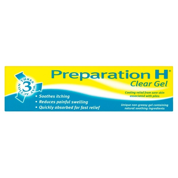 Preparation H Cooling Clear Gel