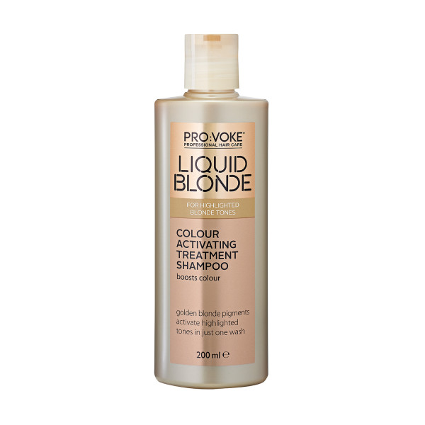 PRO:VOKE Liquid Blonde Colour Activating Treatment Shampoo 200ml