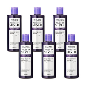 PRO:VOKE Touch Of Silver Brightening Shampoo 6 Pack