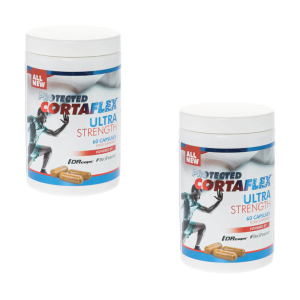 Protected Cortaflex Ultra Strength 60 Capsules- Twin Pack