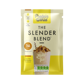 Protein World Slender Blend Salted Caramel Sachet Box