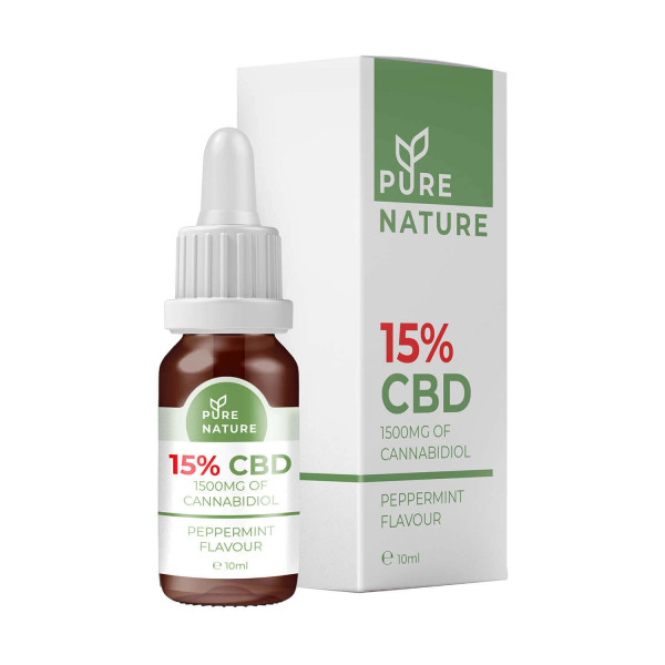 Pure Nature CBD Oil 15% 1500mg