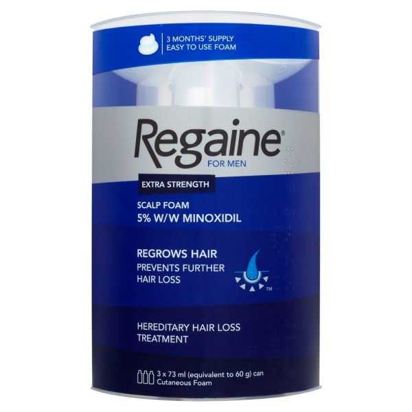 Regaine For Men 5% Foam - 12 Month Supply