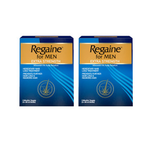 Regaine For Men Extra Strength Solution - 6 Month Supply