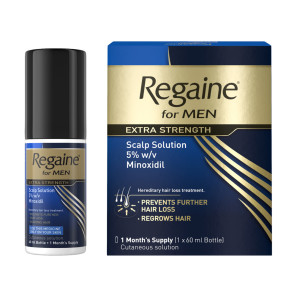 Regaine for Men Extra Strength 5% Cutaneous Solution