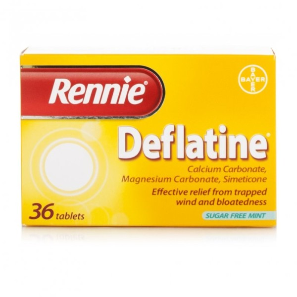Rennie Deflatine Sugar Free Mint