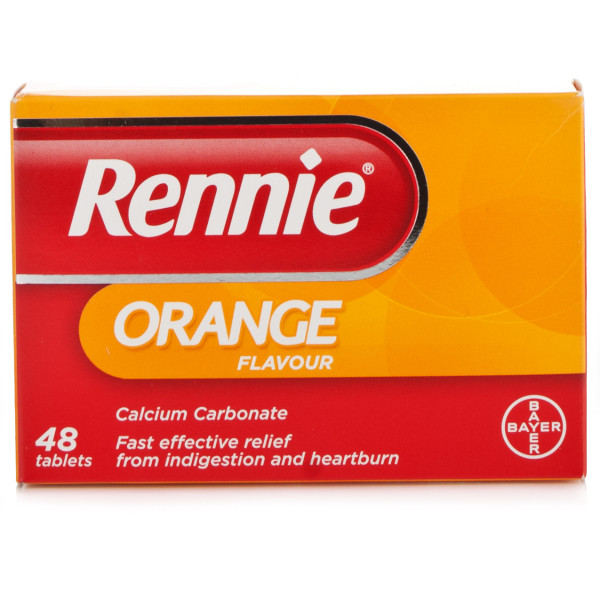 Rennie Orange Tablets