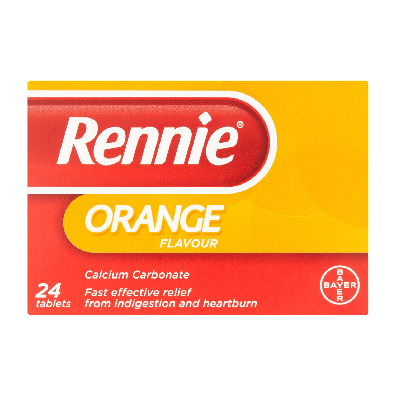 Rennie Orange Heartburn & Indigestion Relief