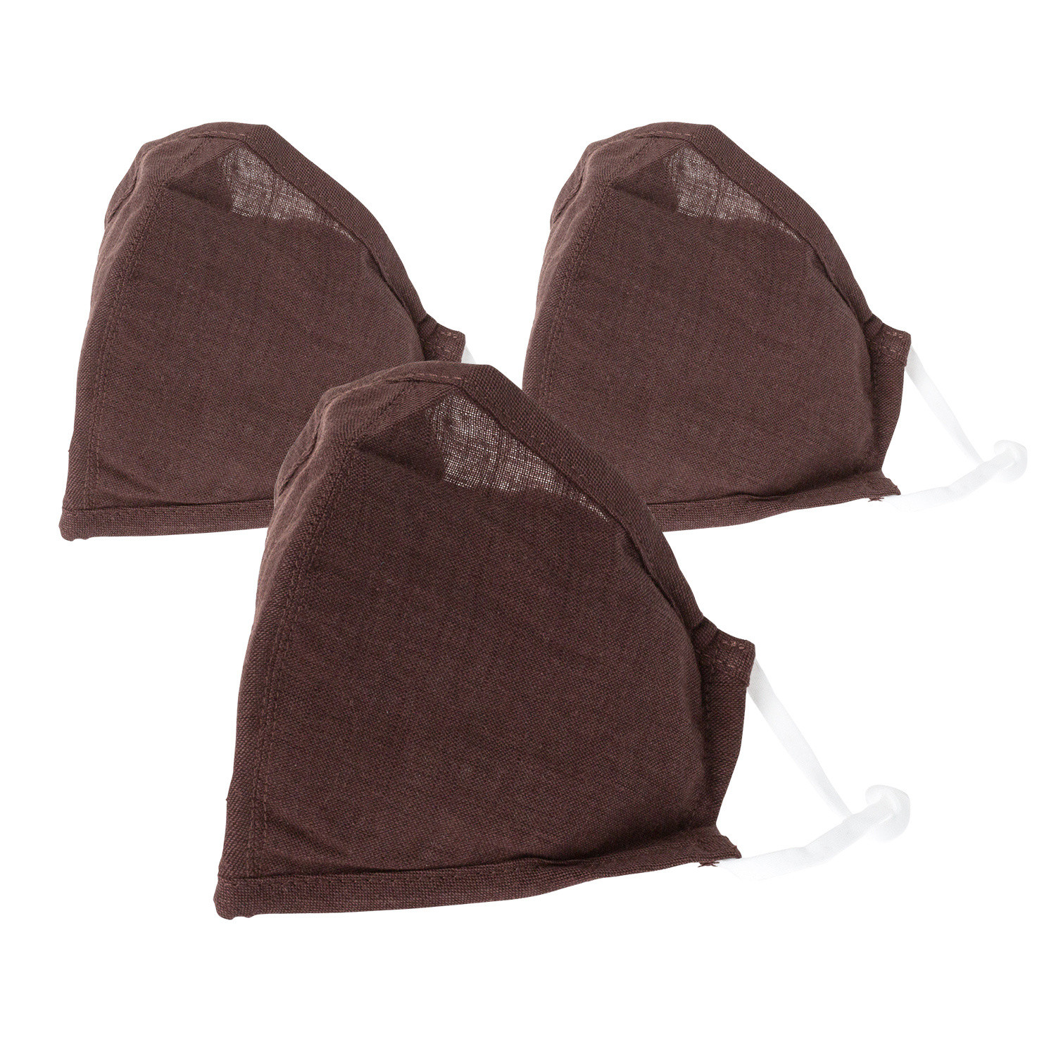 Reusable/Washable Dark Brown Face Covering
