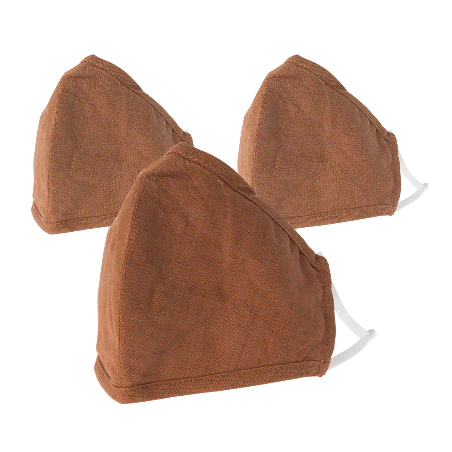 Reusable/Washable Light Brown Face Covering