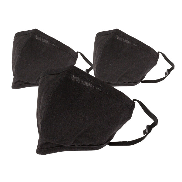 Reusable/Washable Small Black Face Covering