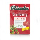 Ricola Cranberry Sugar Free Swiss Herb Drops