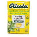 Ricola Lemon Mint Sugar Free Swiss Herb Drops 45g