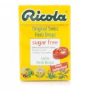 Ricola Original S/F Swiss Herb Drops 45g - 20 Pack