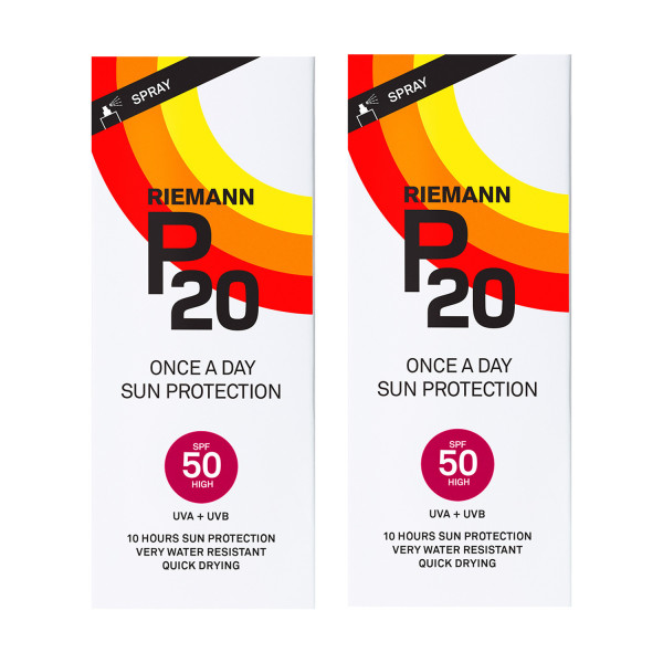 Riemann P20 Once A Day SPF50 Sun Filter Twin Pack