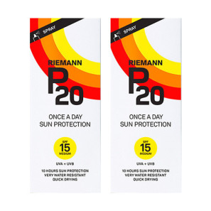 Riemann P20 Once A Day Sun Filter SPF15 Twin Pack