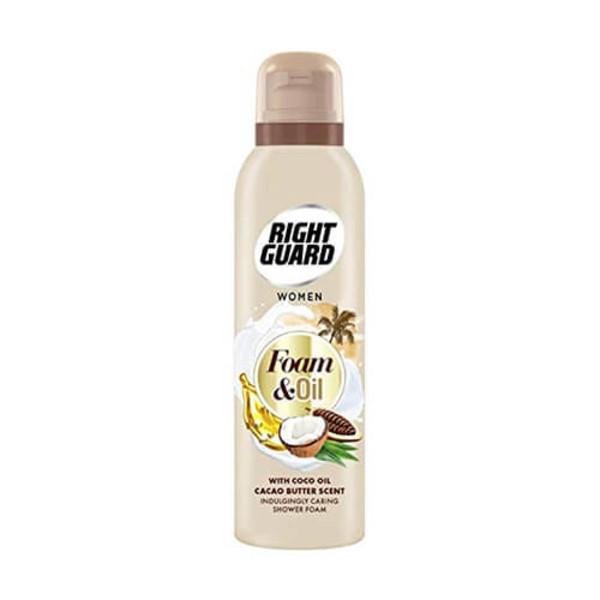 Right Guard Shower Foam & Oil with Coco Oil and Cacao Butter