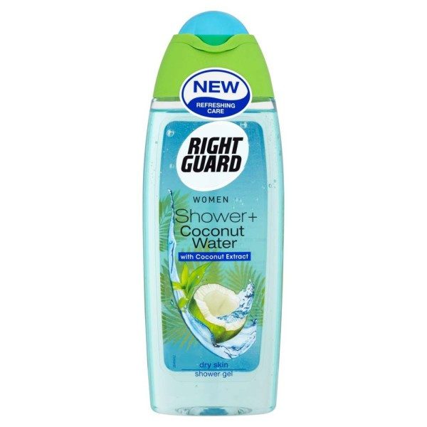 Right Guard Shower Plus + Coconut Water Shower Gel
