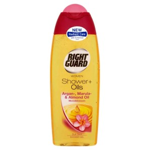 Right Guard Shower Plus + Oils Monoi Blossom Shower Gel