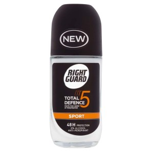 Right Guard Total Defence 5 Sport Anti-Perspirant Roll-On