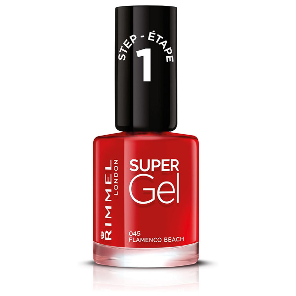 Rimmel Super Gel Nail Polish Beach Ready Collection Flamenco Beach 045