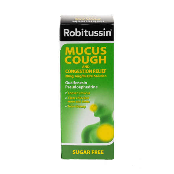 Robitussin Mucus Cough & Congestion Relief