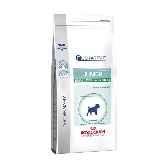 Click to view product details and reviews for Royal Canin Veterinary Canine Junior Small Dog.