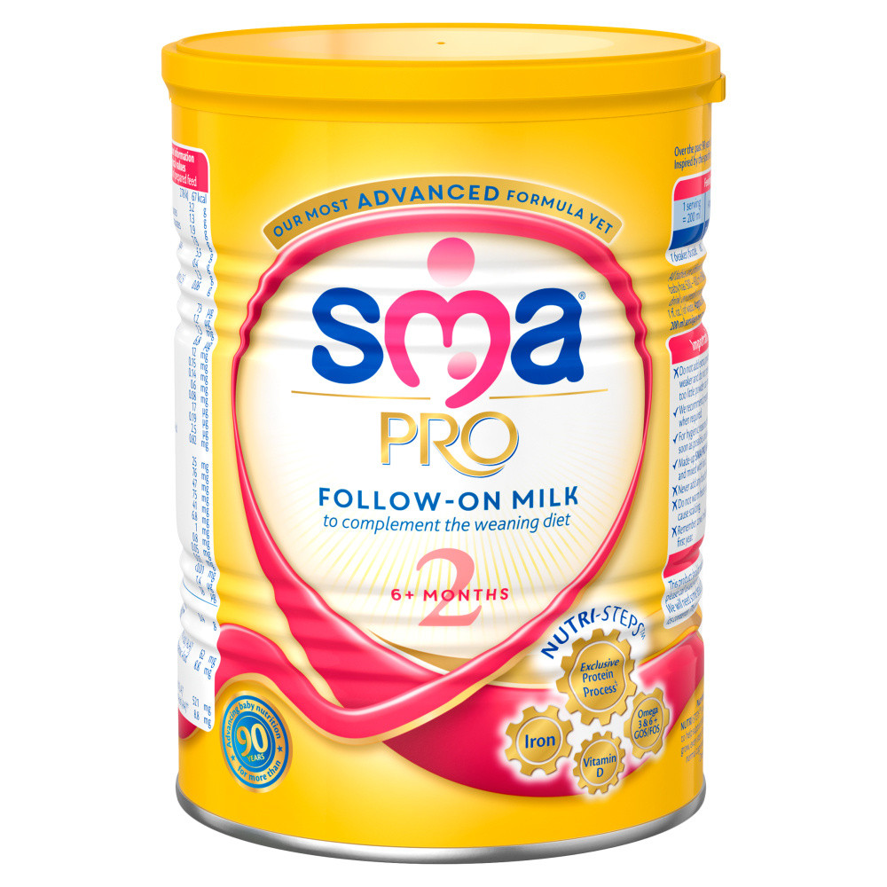 Sma Pro Follow On Baby Milk