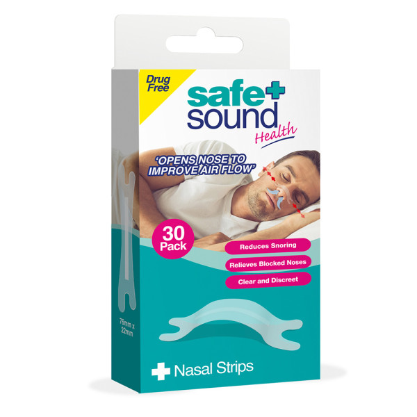 Safe & Sound Nasal Strips