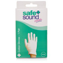 Safe & Sound Cotton Gloves Large