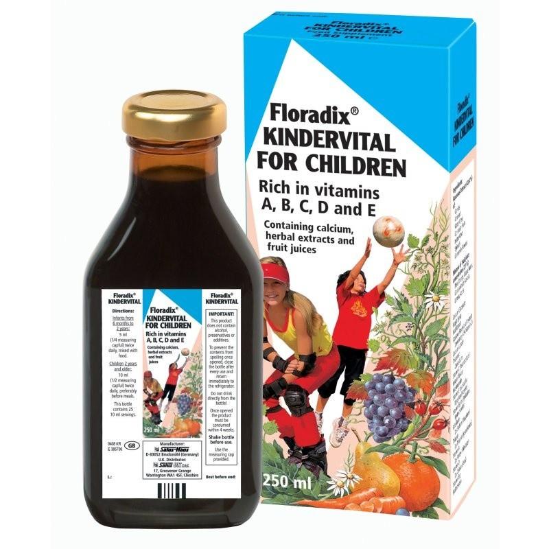 Floradix Kindervital Multivitamin Formula For Children