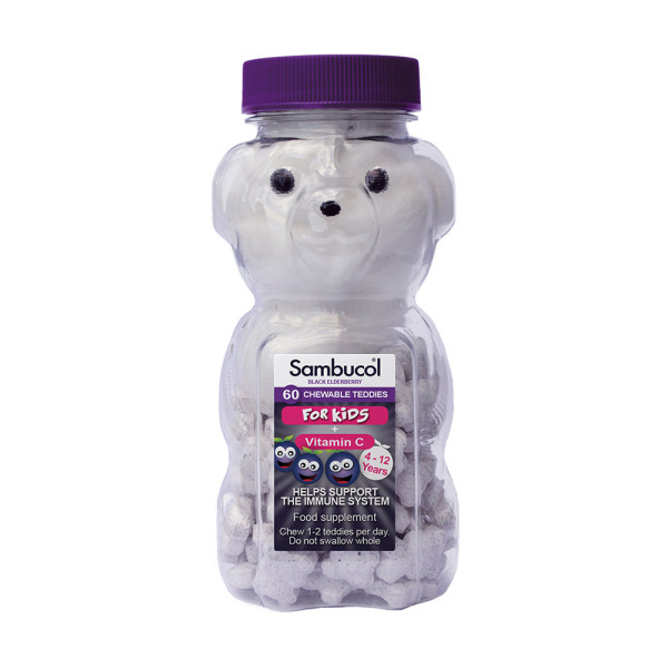 Sambucol Chewable Teddies for Kids