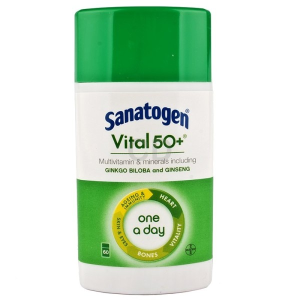 Sanatogen Vital 50+ One A Day Multivitamin