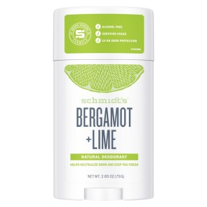 Schmidts Natural Sensitive Deodorant Stick Bergamot and Lime