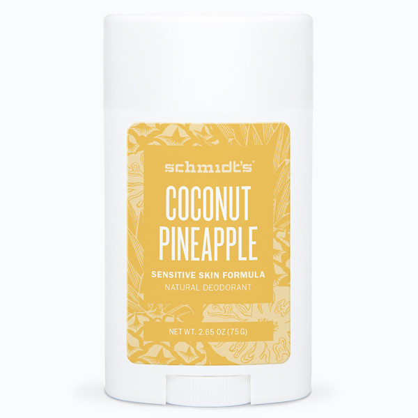 Schmidts Natural Sensitive Deodorant Stick Coconut and Pineapple