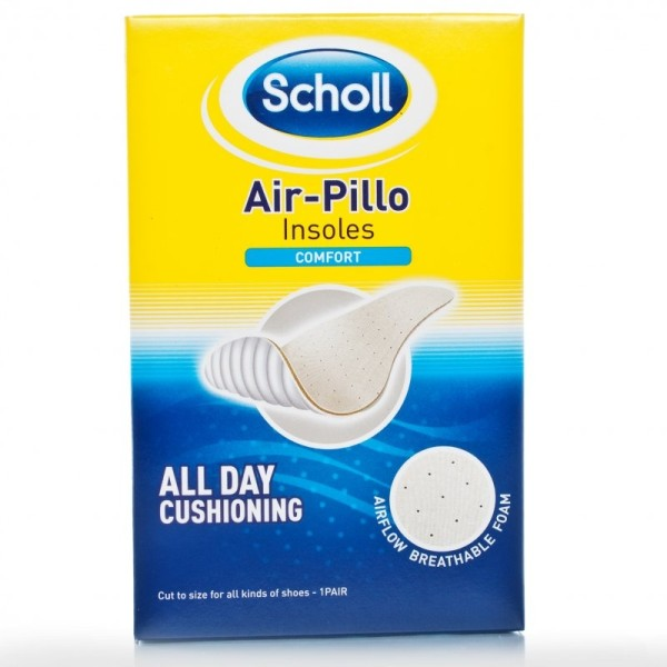 Scholl Air Pillow Comfort Insoles