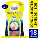 Scholl Blistershield Toe