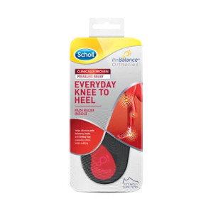 Scholl Everyday Knee To Heel Orthotic M