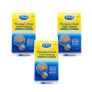 Scholls Pressure Point Foam Padding Triple pack
