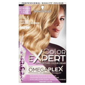 Schwarzkopf Colour Expert 8.65 Medium Caramel Blonde Hair Dye