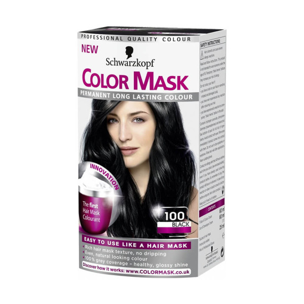 Schwarzkopf Colour Mask 100 Black Hair Dye
