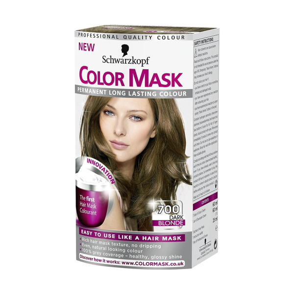 Schwarzkopf Colour Mask 700 Dark Blonde Hair Dye