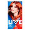 Schwarzkopf Live Intense Colour + Lift L74 Tangerine Twist  Permanent Hair Dy