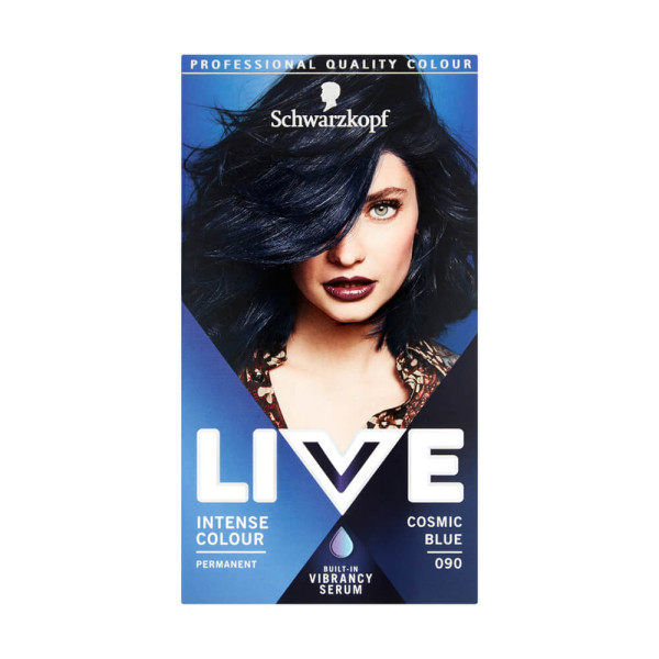 Schwarzkopf Live Intense Colour 90 Cosmic Blue Permanent Hair Dye