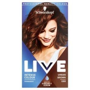 Schwarzkopf Live Intense Colour 88 Urban Brown Hair Dye