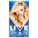Schwarzkopf Live Intense Lightener 00A Absolute Platinum Permanent Hair Dye