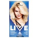 Schwarzkopf Live Intense Lightener 00B Max Blonde Permanent Hair Dye